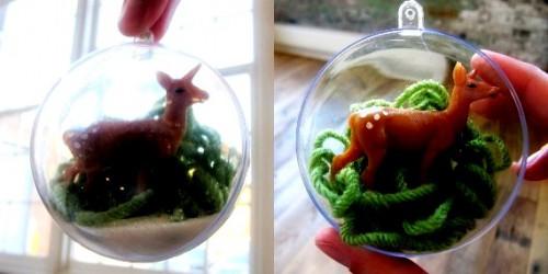 Как сделать стеклянные шары своими руками