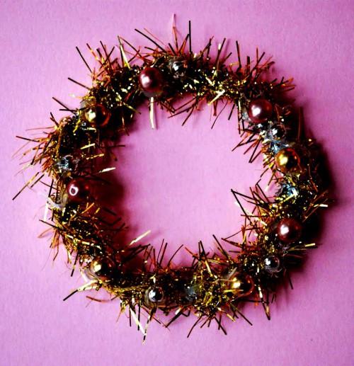 Новогодний венок своими руками - венок на Рождество (2)