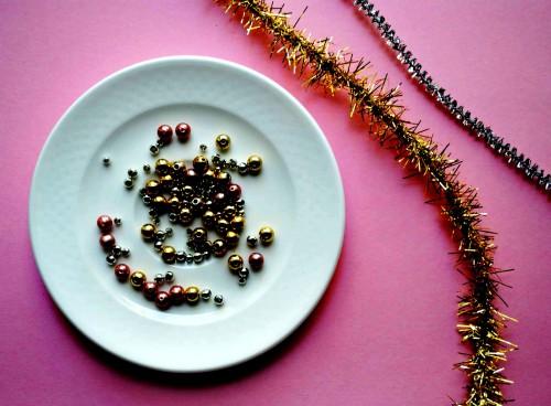 Новогодний венок своими руками - венок на Рождество (3)
