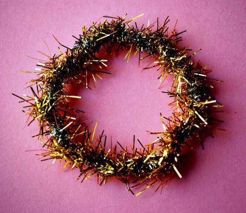 Новогодний венок своими руками - венок на Рождество (6)