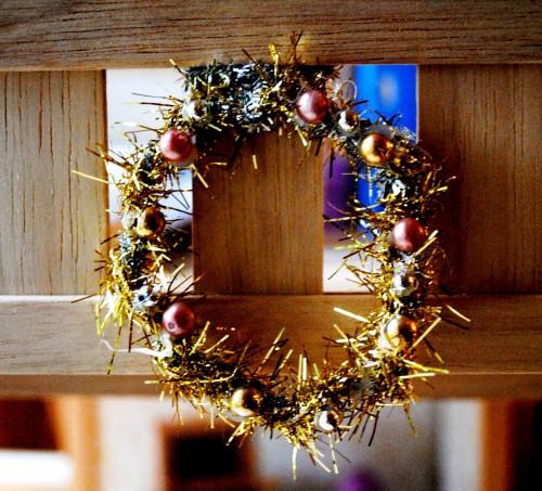 Новогодний венок своими руками - венок на Рождество (7)