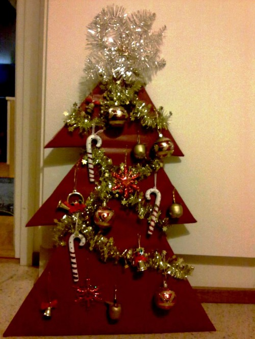 Новогодняя елка своими руками - как сделать елку своими руками (2)