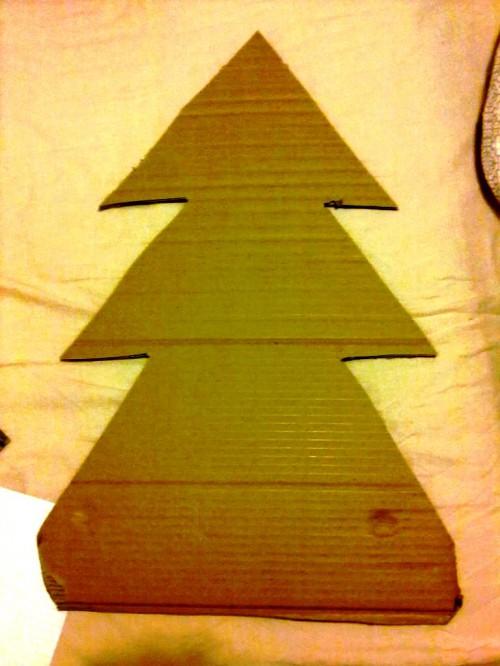Новогодняя елка своими руками - как сделать елку своими руками (5)