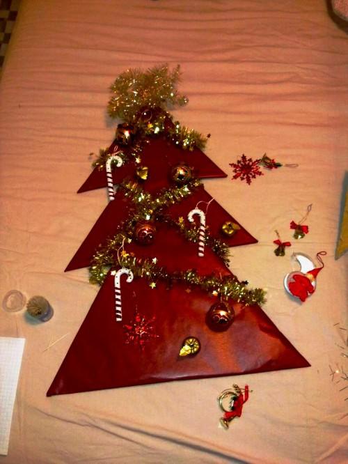 Новогодняя елка своими руками - как сделать елку своими руками (8)