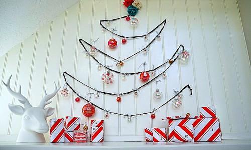 Новогодняя елочка своими руками - елка поделка своими руками (8)