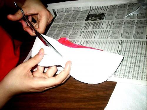 Новогодняя маска своими руками - маскарадные маски (4)