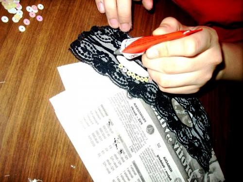 Новогодняя маска своими руками - маскарадные маски (10)