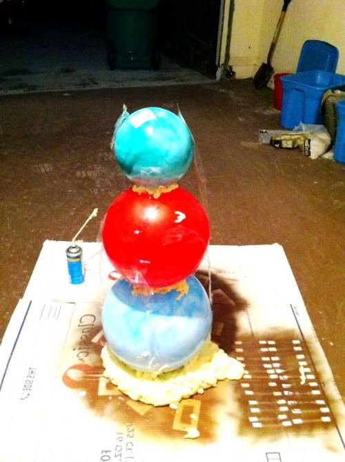Снеговик из модулей - снеговик картинки (5)
