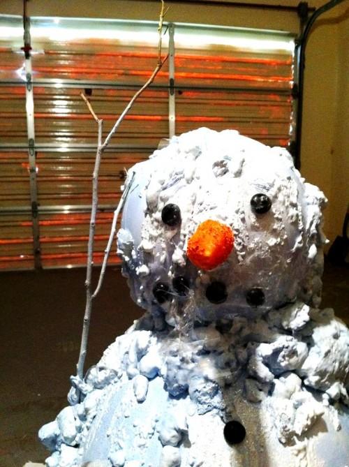 Снеговик из модулей - снеговик картинки (10)