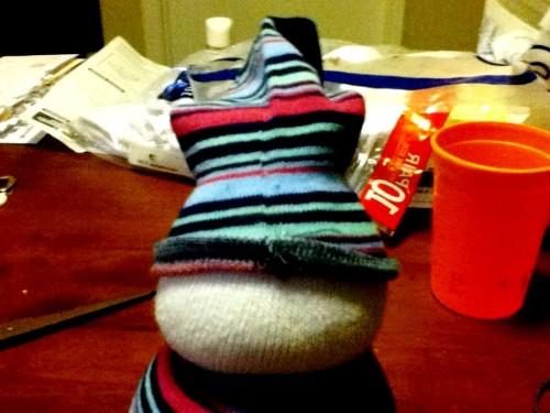 Новогодние игрушки поделки своими руками - снеговики своими руками (24)