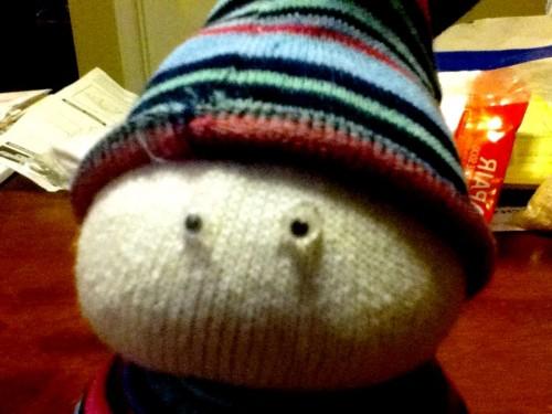 Новогодние игрушки поделки своими руками - снеговики своими руками (30)