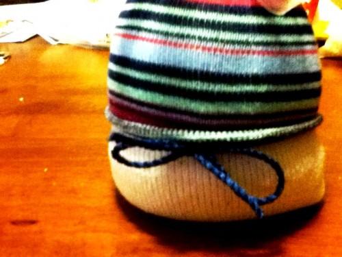 Новогодние игрушки поделки своими руками - снеговики своими руками (34)