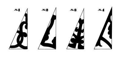 Бумажная снежинка - Трафареты снежинок (12)