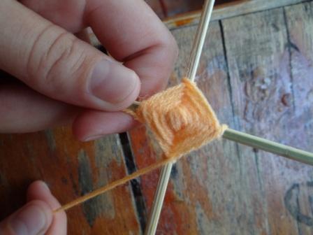 Мандала способ плетения