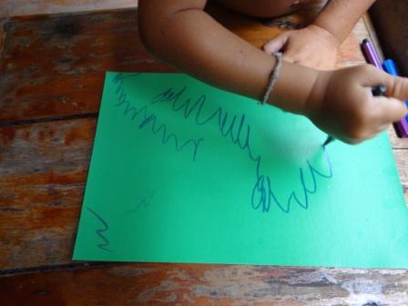 Детские поделки из ракушек (7)