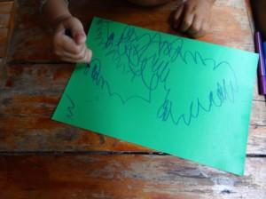 Детские поделки из ракушек (6)