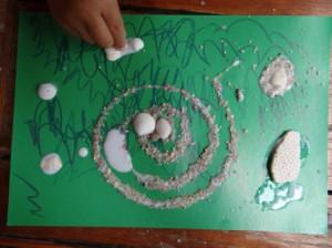 Детские поделки из ракушек (3)