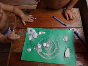 Детские поделки из ракушек (2)