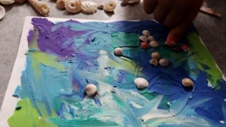 Поделки из ракушек для детей -Мастер-класс (5)