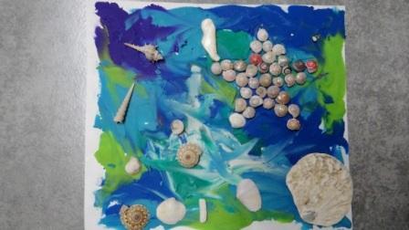 Поделки из ракушек для детей -Мастер-класс (4)