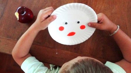 Поделка Дед Мороз: поделки с детьми на новый год (4)