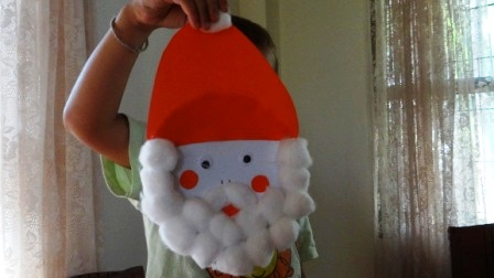 Поделка Дед Мороз: поделки с детьми на новый год (7)