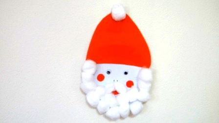 Поделка Дед Мороз: поделки с детьми на новый год (1)