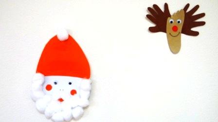 Поделка Дед Мороз: поделки с детьми на новый год (8)