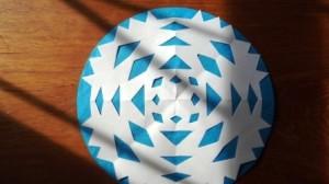 Бумажная снежинка - Трафареты снежинок (5)