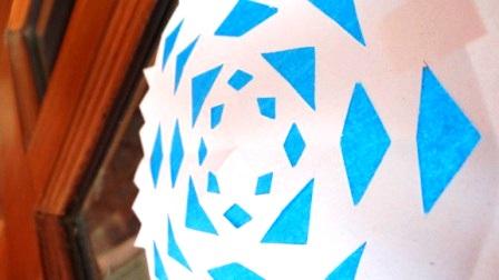 Бумажная снежинка - Трафареты снежинок (3)