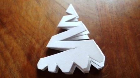 Как вырезать красивые снежинки - Новогодняя снежинка (10)
