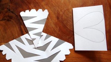 Как вырезать красивые снежинки - Новогодняя снежинка (8)