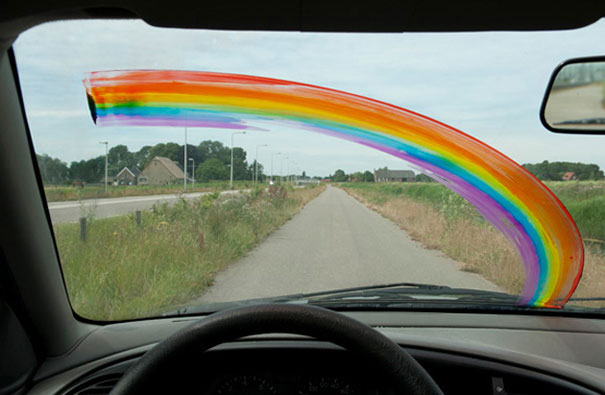 Красивая радуга или как порадовать любимых (2)