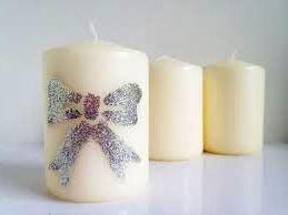 Декорирование свечей - делаем свечи в домашних условиях (5)