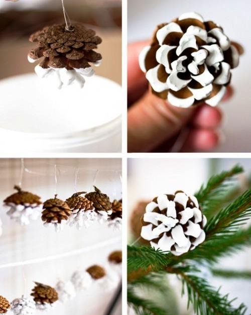 Декор из шишек - поделки из шишек (4)