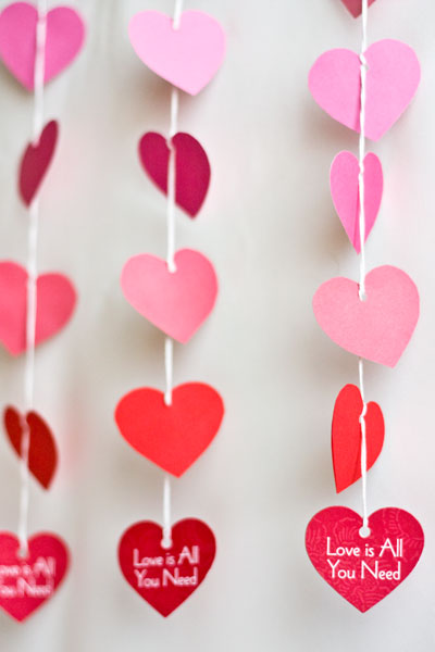 Бумажные сердечки своими руками фото
