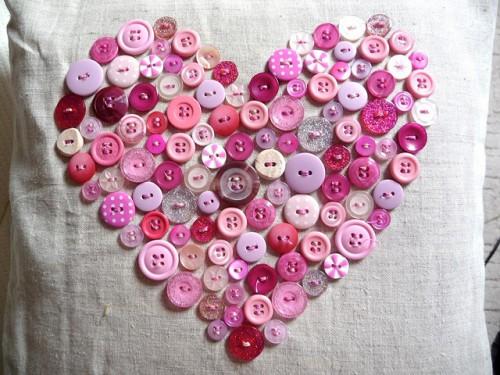 Как сделать валентинку - декор на день Святого Валентина (4)