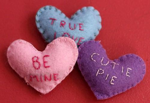 Как сделать валентинку - декор на день Святого Валентина (1)