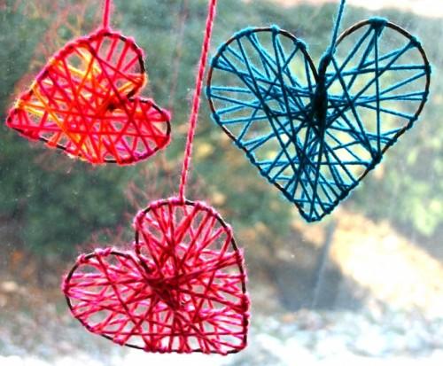 Как сделать валентинку - декор на день Святого Валентина (8)