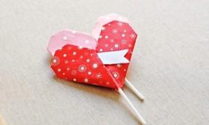 Как сделать оригами сердце — Красивая валентинка