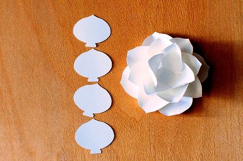 Как сделать цветы своими руками - цветы из бумаги мастер класс (10)