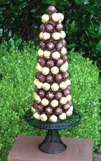 Как сделать ёлку из конфет (4)
