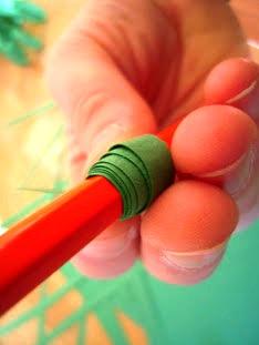 Как сделать ёлочку из бумаги (2)