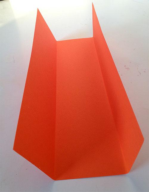 Монстр из бумаги - поделки оригами для детей (4)