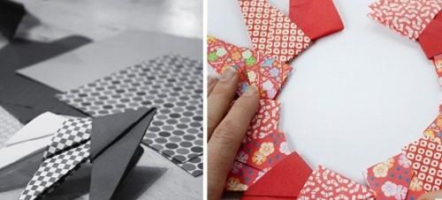 Новогодние оригами из бумаги - объёмная звезда из бумаги (6)