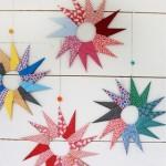 Новогодние оригами из бумаги – объёмная звезда