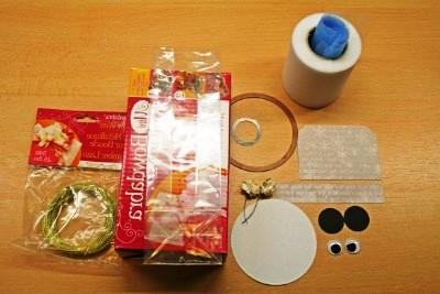 Новогодняя упаковка для конфет - мастер класс (12)