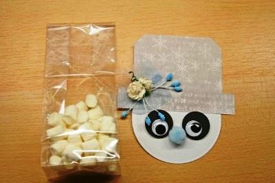Новогодняя упаковка для конфет - мастер класс (3)