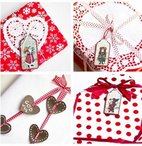 Оформление новогодних подарков - идеи упаковки подарков (1)