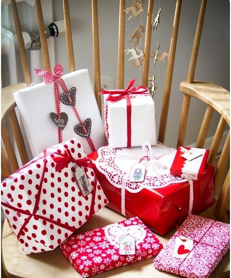 Оформление новогодних подарков - идеи упаковки подарков (6)